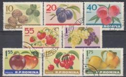 ROMANIA 2176-2183,used,fruits - Fruits