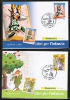 CEPT 2010 IT MI 3376-77 ITALY POSTCARD - Europa-CEPT