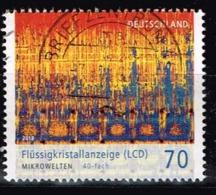 Bund 2018,Michel# 3427 O Mikrowelten: LCD Flüssigkeitskristallanzeige - [7] République Fédérale