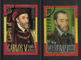 Espagne España 2000 SPECIMEN Muestra Roi Carlos V ** Spain King Charles V ** - 1931-Today: 2nd Rep - ... Juan Carlos I