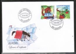 CEPT 2010 LU MI 1867-68 LUXEMBOURG FDC - Europa-CEPT