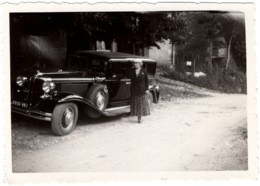 Ancienne Photo : Belle Automobile ( Sans Doute Cadillac ) - Automobili