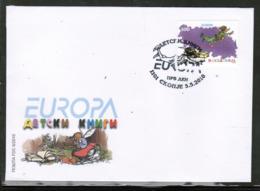 CEPT 2010 LU MK MI 542 MACEDONIA FDC - Europa-CEPT