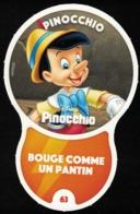 Carte à Collectionner Disney Auchan Les Défis Challenge Pinocchio 63 / 96 - Andere Sammlungen