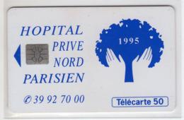 FRANCE EN1133 Hopital Prive Nord Parisien 12/94 50U Tirage 2198 Ex - Frankreich