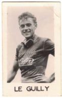 MORBIHAN LE FAOUËT SPORT CYCLISME - PHOTO VERITABLE DU CYCLISTE JEAN LE GUILLY - FORMAT 3,3 X 5,3 - Verso Vierge - Cycling