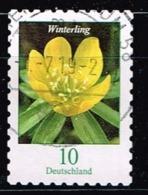 Bund 2018,Michel# 3430 O Blumen: Winterling, Selbstklebend - Gebraucht