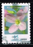 Bund 2018,Michel# 3431 O Blumen: Wiesenschaumkraut, Selbstklebend - Gebraucht