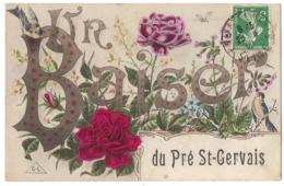 93 003 - Un Baiser Du PRE SAINT GERVAIS - Le Pre Saint Gervais