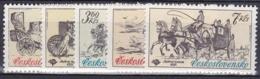 ** Tchécoslovaquie 1981 Mi 2598-2602 (Yv 2423-7), (MNH) - Czechoslovakia
