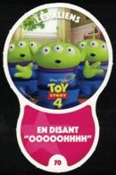 Carte à Collectionner Disney Auchan Les Défis Effet Les Aliens 70 / 96 - Andere Sammlungen