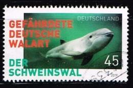 Bund 2019,Michel# 3436 O  Gefährdete Tiere In Deutschland, Schweinswal - Gebraucht