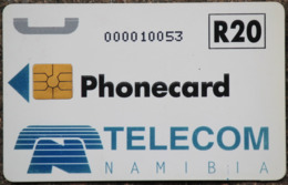 Namibia Demonstration Telefonkarte R20 Nummer: Nur Zahlen-...... Auf Chipseite - Namibie