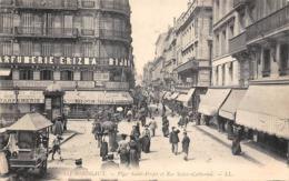 Thème  Métiers .    Marchand De Glace Ambulant .   33 Bordeaux    Place St Projet     (voir Scan) - Métiers