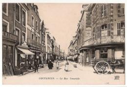 50 003 - COUTANCES - La Rue Tancrède - Coutances