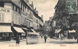 Thème  Métiers .    Marchand De Glace Ambulant .   21  Beaune   Rue Carnot    (voir Scan) - Métiers