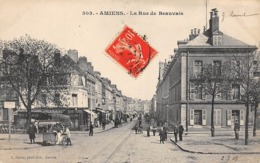 Thème  Métiers .    Marchand De Glace Ambulant .    80  Amiens  Rue De Beauvais     (voir Scan) - Métiers