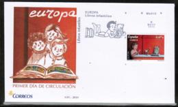 CEPT 2010 ES MI 4506 SPAIN FDC - Europa-CEPT
