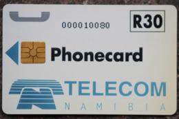 Namibia Demonstration Telefonkarte R 30 Nummer: Nur Zahlen-...... Auf Chipseite - Namibie