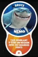 Carte à Collectionner Disney Auchan Les Défis Challenge Bruce 21 / 96 - Andere Sammlungen