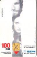ARGENTINA - Cinema/The Crucible, Telecom Argentina Telecard, Chip GEM1, 02/97, Used - Argentinië