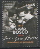 PORTUGAL 2015, Don Bosco 1v  Mnh - Nuevos