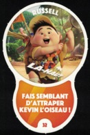Carte à Collectionner Disney Auchan Les Défis Challenge Russell 32 / 96 - Andere Sammlungen