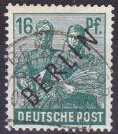 Berlin, 1948, 7, Used. Schwarzaufdruck - Usados