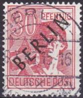 Berlin, 1948, 11, Used. Schwarzaufdruck, - Used Stamps