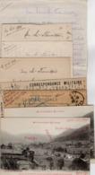 VP15.826 - MILITARIA - Guerre 14 / 18 - Lot De Documents Concernant Les Soldats POUZET Dont Antoine Tué à SAINT - DIE - Documents