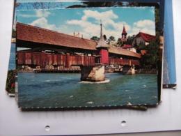 Zwitserland Schweiz Suisse LU Luzern Lucerne Mit Die Spreuerbrücke - LU Lucerne