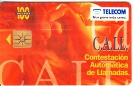 ARGENTINA - C.A.LL., Telecom Argentina Telecard, Chip GEM1a, 06/96, Used - Argentinië