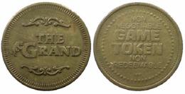 00983 GETTONE TOKEN JETON FICHA  ARCADE GAME TOKEN THE GRAND - USA