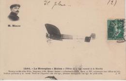 """CPA Le Monoplan """"Molon"""" (Blériot XI - Type Traversée De La Manche) - Flieger"""