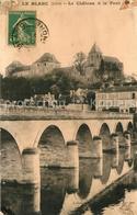 13554605 Le_Blanc_Indre Château Et Le Pont Le_Blanc_Indre - France