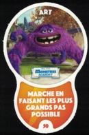Carte à Collectionner Disney Auchan Les Défis Challenge Art 50 / 96 - Andere Sammlungen