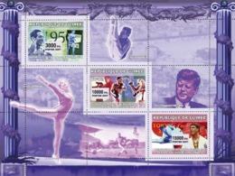 Guinea 2007 MNH - Various Sports YT 2912-2914, Mi 4575-4577 - Guinea (1958-...)