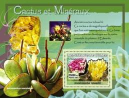 Guinea 2007 MNH - Cactus Et Mineraux / Cactus And Minerals. YT 552, Mi 4755/BL1209 - Guinea (1958-...)
