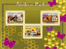 Guinea 2007 MNH - Abeilles Et Papillons / Bees And Butterflies. YT 2951-2953, Mi 4704-4706 - Guinea (1958-...)