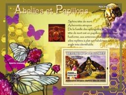 Guinea 2007 MNH - Abeilles Et Papillons / Bees And Butterflies. YT 555, Mi 4764/BL1218 - Guinea (1958-...)