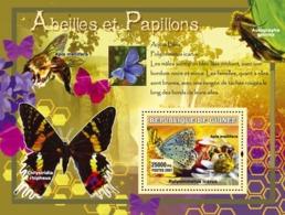 Guinea 2007 MNH - Abeilles Et Papillons / Bees And Butterflies. YT 557, Mi 4766/BL1220 - Guinea (1958-...)
