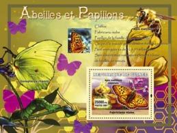 Guinea 2007 MNH - Abeilles Et Papillons / Bees And Butterflies. YT 556, Mi 4765/BL1219 - Guinea (1958-...)