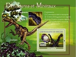 Guinea 2007 MNH - Dinosaures Et Mineraux / Dinosaurs And Minerals. YT 567, Mi 4773/BL1227 - Guinea (1958-...)