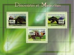 Guinea 2007 MNH - Dinosaures Et Meteorites. YT 2957-2959, Mi 4710-4712 - Guinea (1958-...)