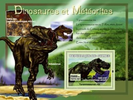 Guinea 2007 MNH - Dinosaures Et Meteorites. YT 562, Mi 4771/BL1225 - Guinea (1958-...)