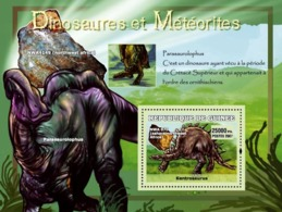 Guinea 2007 MNH - Dinosaures Et Meteorites. YT 563, Mi 4772/BL1226 - Guinea (1958-...)