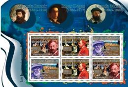 Guinea 2007 MNH - ART - French Impressionists: Renoir, Degas, Monet. YT 2975-2977, Mi 4875-4877 - Guinea (1958-...)