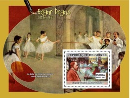 Guinea 2007 MNH - ART - French Impressionists: Degas. YT 580, Mi 4900/BL1294 - Guinea (1958-...)