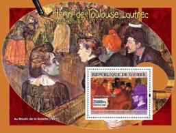 Guinea 2007 MNH - ART - French Impressionists: Toulouse-Lautrec. YT 584, Mi 4898/BL1292 - Guinea (1958-...)