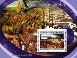 Guinea 2007 MNH - ART - Flemish Painters: Peter Brughel The Older. YT 590, Mi 4892/BL1286 - Guinea (1958-...)